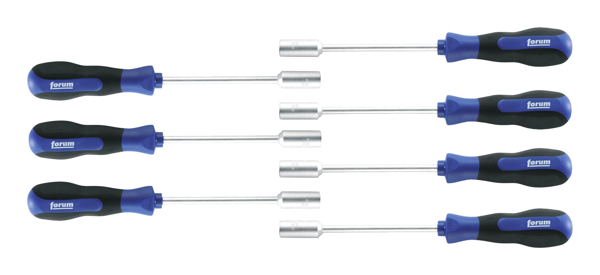 Steckschlüssel-Schraubendreher-Satz 7tlg. 5-13 mm