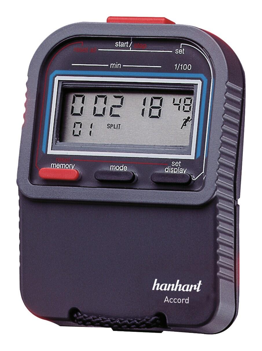 Hanhart Digitale-Stoppuhr 1/100-Minuten - 265.6765-00