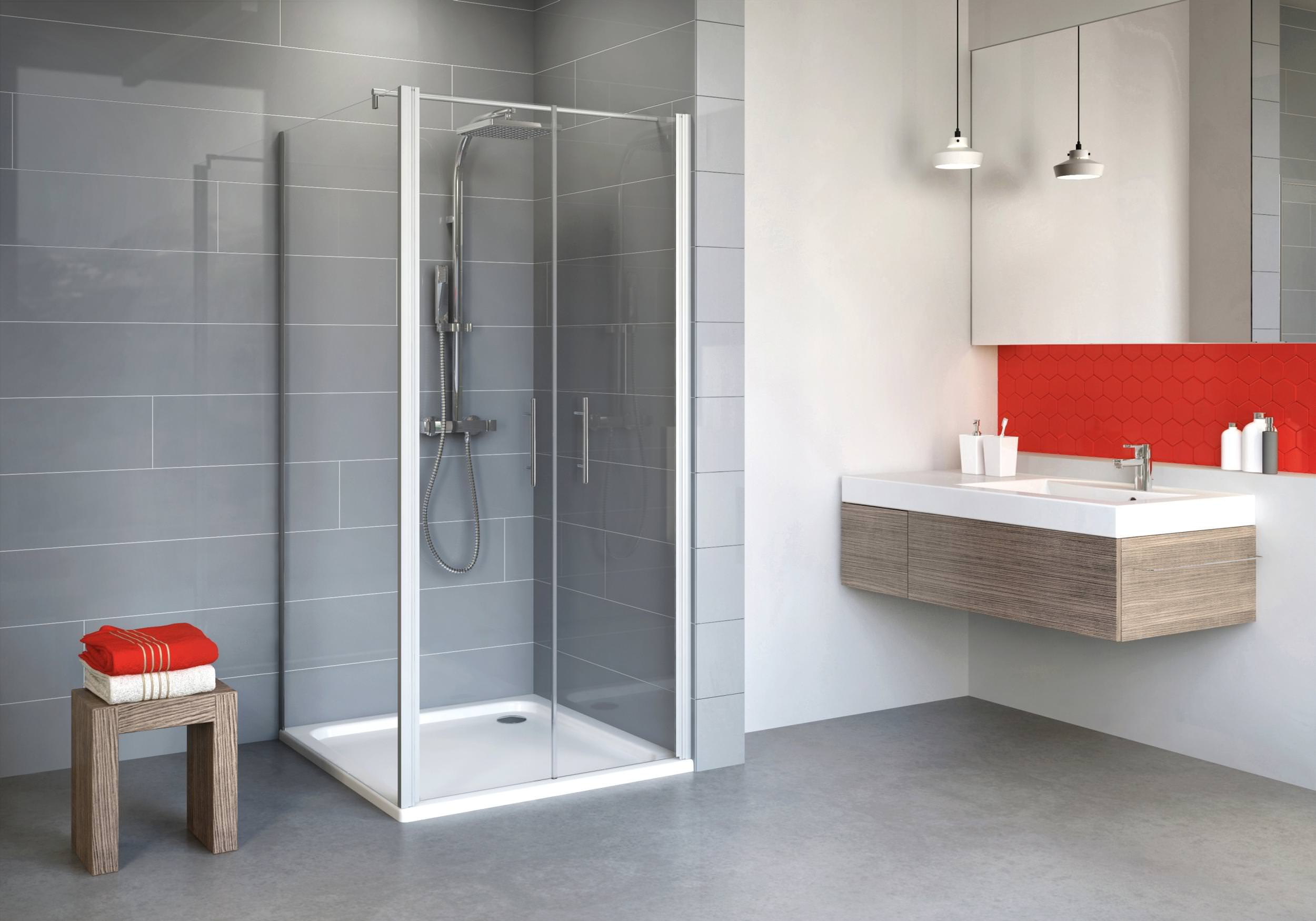 schulte alexa style 2 0 pendelt r 2 teilig mit seitenwand. Black Bedroom Furniture Sets. Home Design Ideas