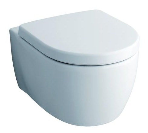 Keramag 2015 Kombination ICon-Tiefspuel-WC-6-Liter-wandhaengend-204060 WC-Sitz-574120
