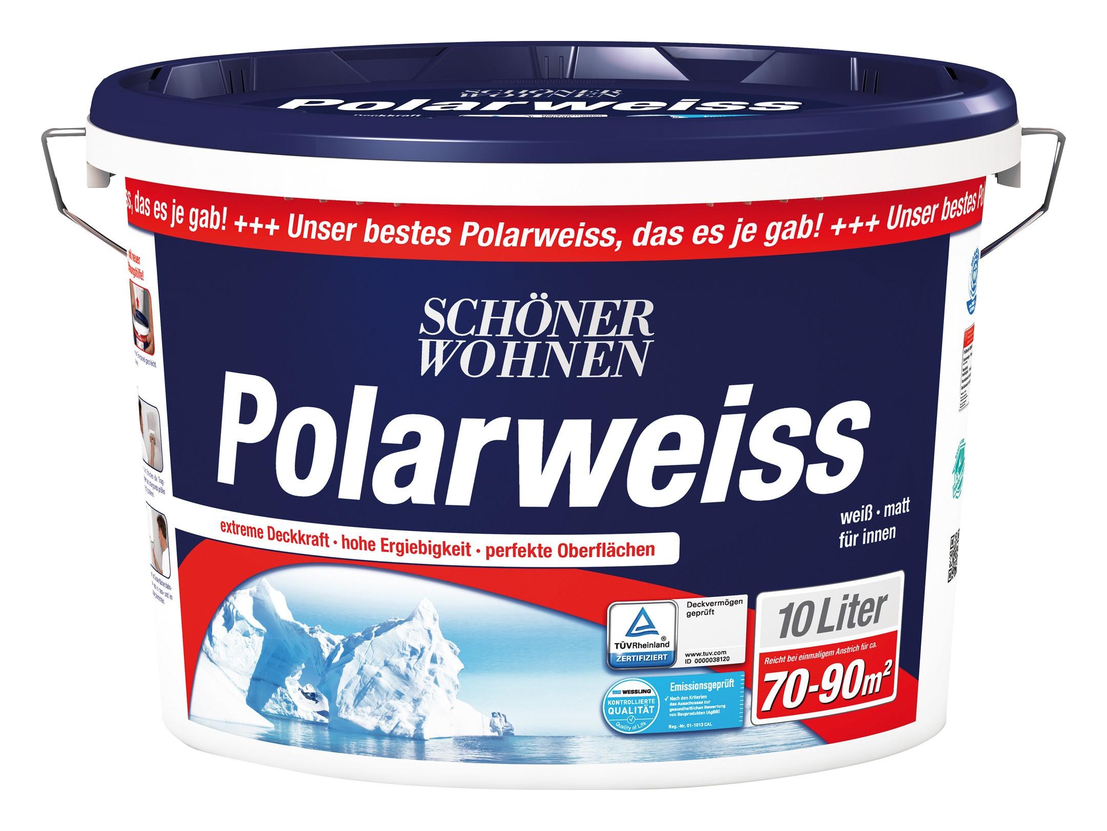Schöner Wohnen Polarweiss 10l DIN EN 13 300 SW - 246900100095