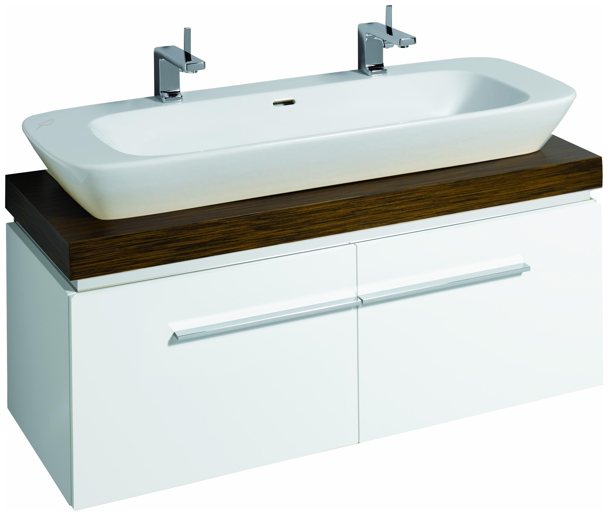 keramag silk waschtisch 121620 1200mm x 470mm wei alpin. Black Bedroom Furniture Sets. Home Design Ideas