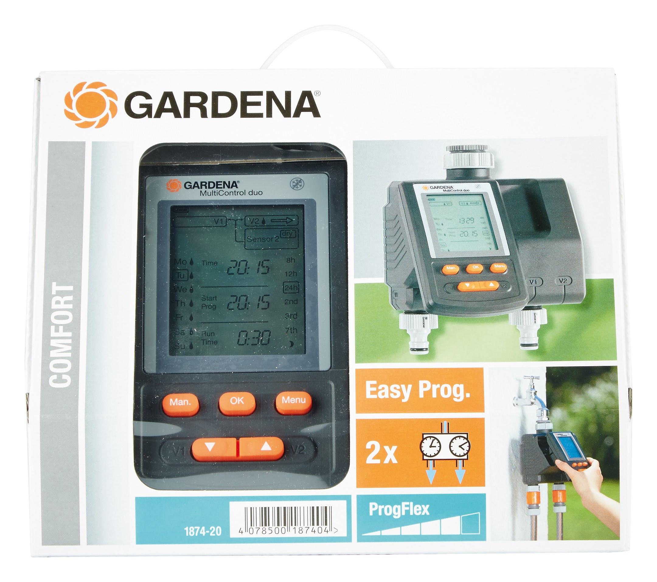 Gardena Bewässerungscomputer MultiControl duo - 01874-20