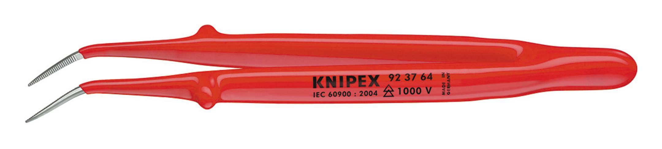 Knipex Präzisions-Pinzette gebogen 150mm VDE - 92 37 64