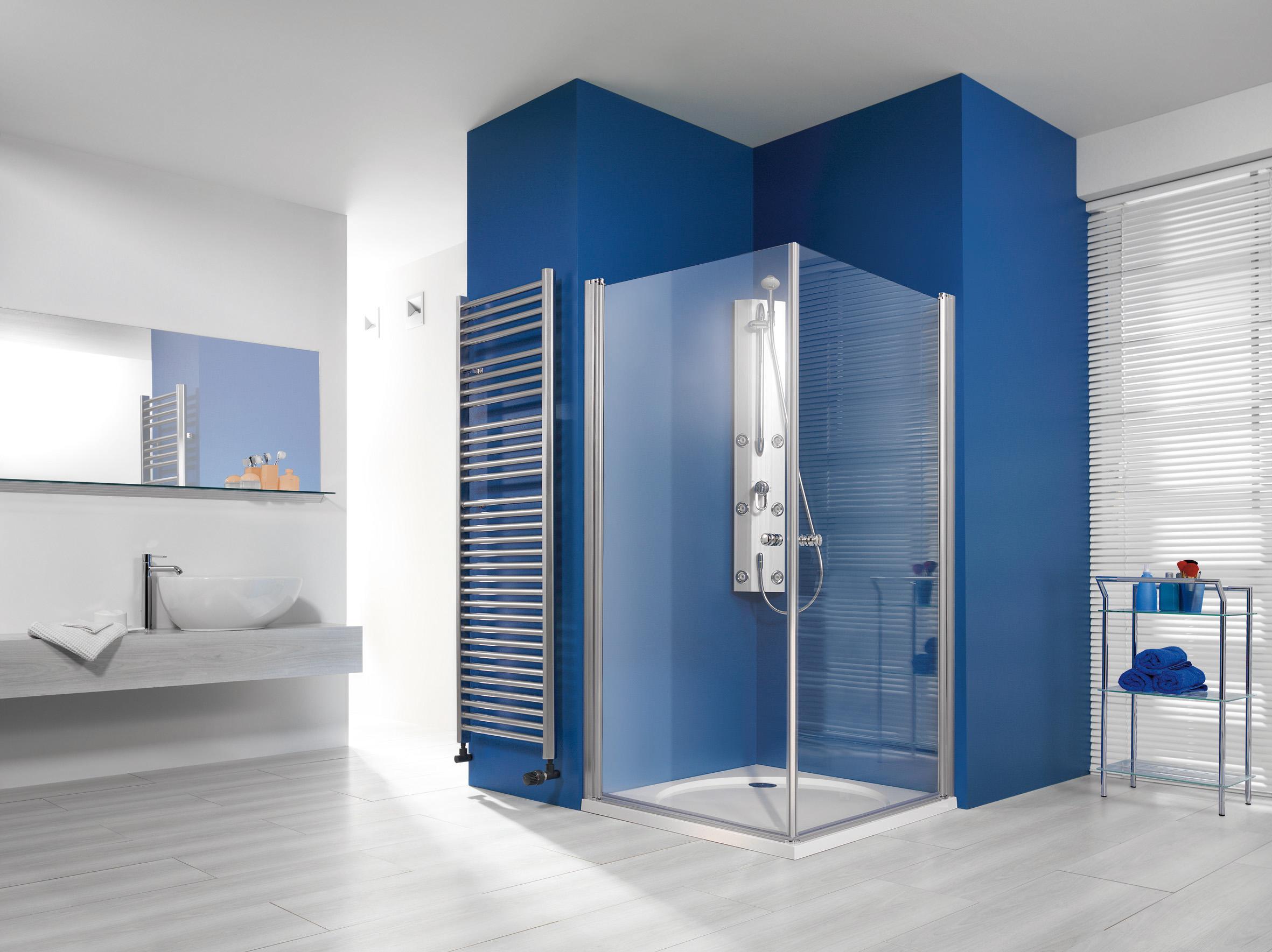breuer elana eckeinstieg 2 teilig klarglas hell alu silber matt 75cm x 75cm 200cm 0607 001. Black Bedroom Furniture Sets. Home Design Ideas