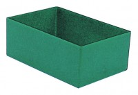 H Kunststoffeinsatz 108 x 162 x 63mm grün