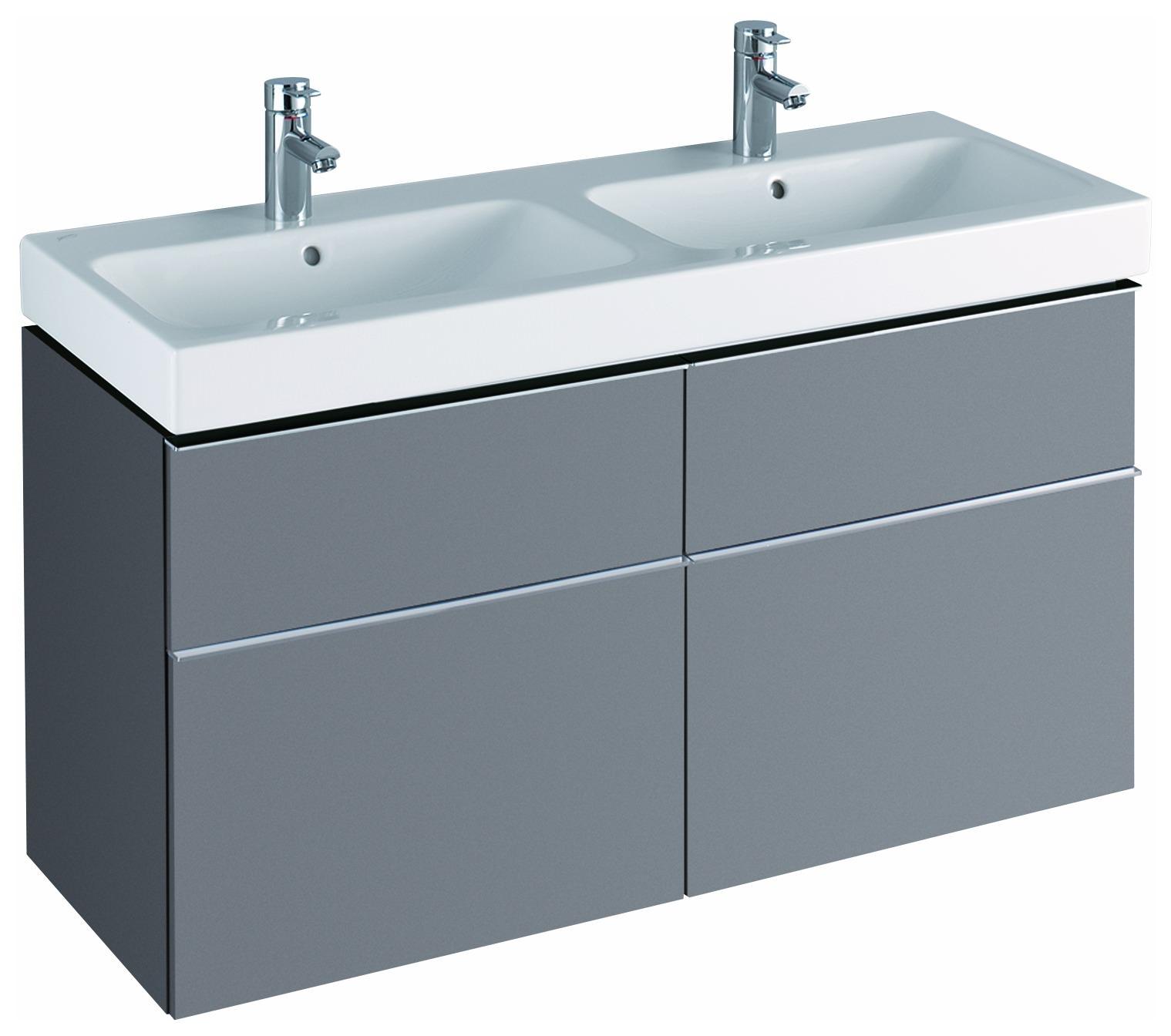 keramag icon waschtischunterschrank f r doppelwaschtisch. Black Bedroom Furniture Sets. Home Design Ideas