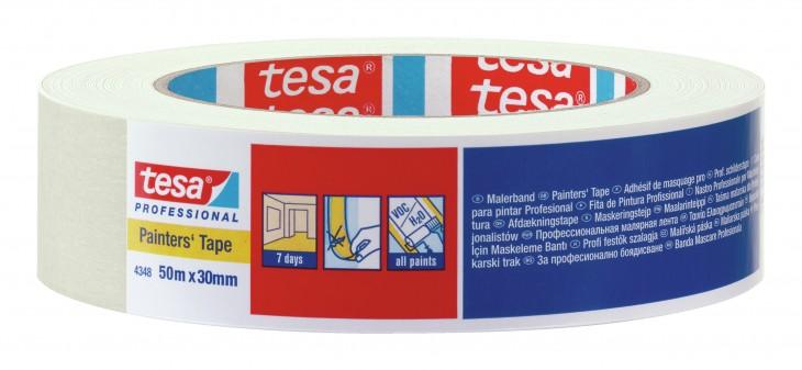 Tesa 2019 Freisteller Klebeband-hellbeige-krepp-4348-50mx
