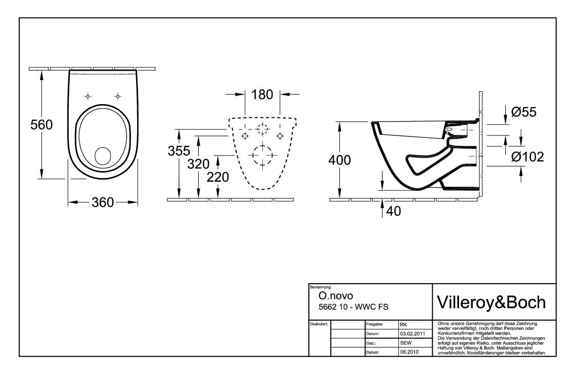 villeroy boch o novo flachsp lklosett wand wc mit sp lrand wei alpin ceramicplus wc und. Black Bedroom Furniture Sets. Home Design Ideas