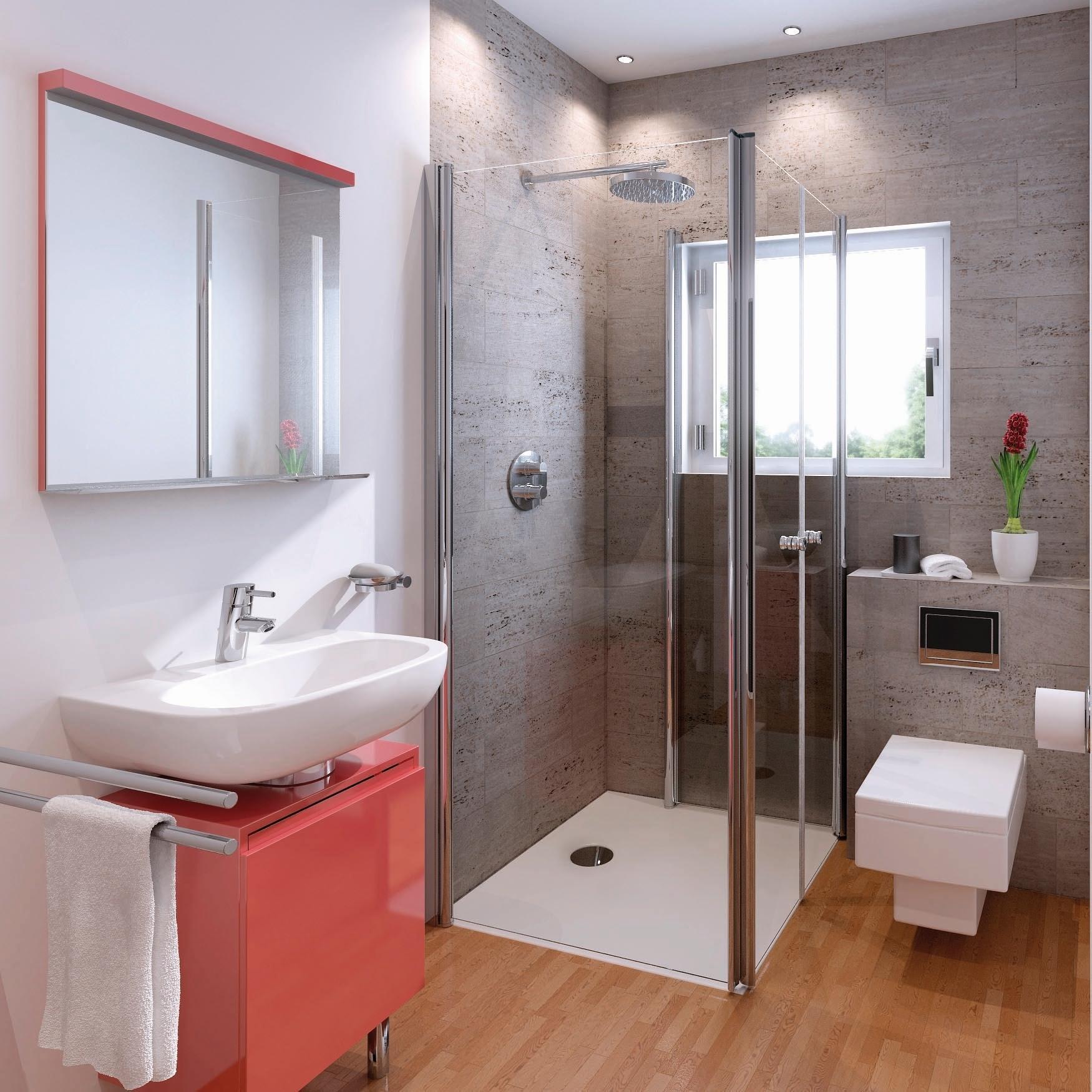 schulte garant u kabine aus drehfaltt ren f r. Black Bedroom Furniture Sets. Home Design Ideas