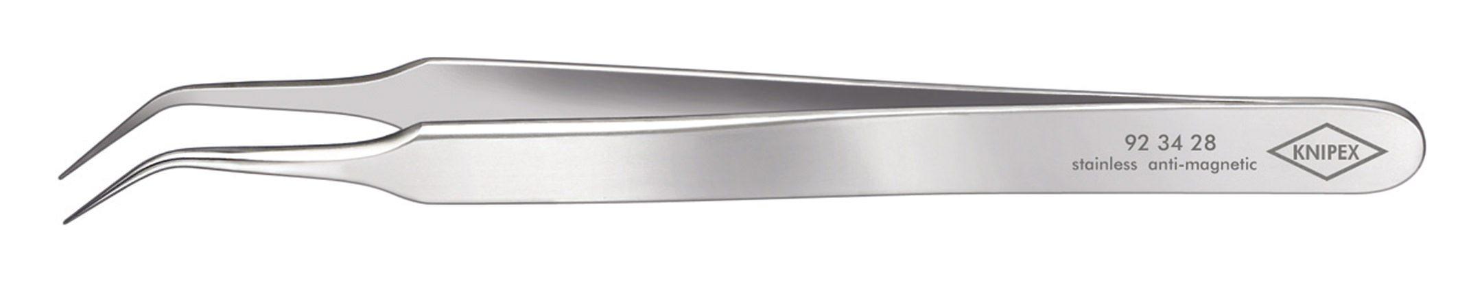 Knipex Präzisions-Pinzette Nadelf.geb 105mm rostfrei - 92 34 28