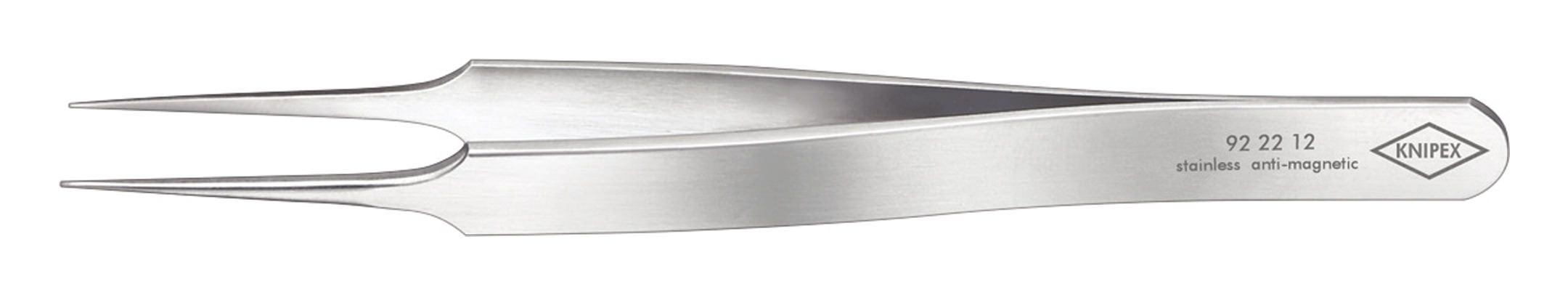 Knipex Präzisions-Pinzette Nadelform 105mm rostfrei - 92 22 12