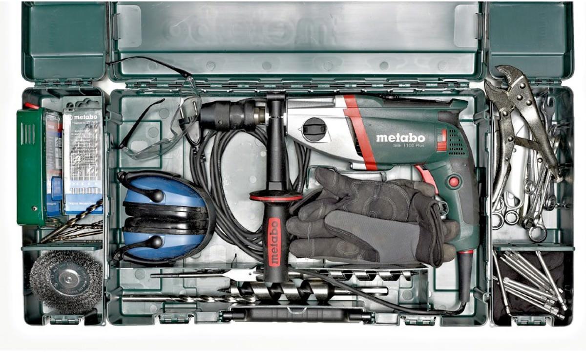 Metabo Kunststoffkoffer MC 10 für alle Akku-Bohrschrauber und ...