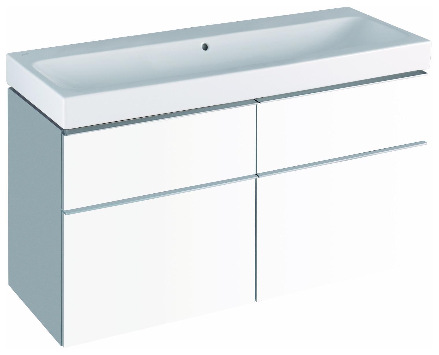 Keramag Icon Waschtisch Ohne Hahnloch 1200mm X 485mm Weiss Alpin