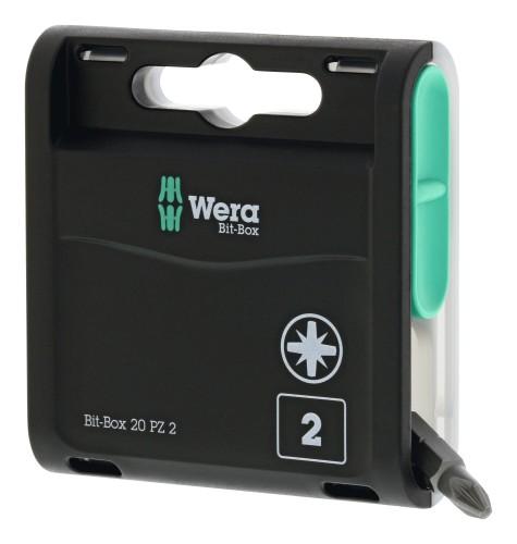 Wera 2019 Freisteller Bit-Box-20-H-PZ2x-25mm-20er-Box