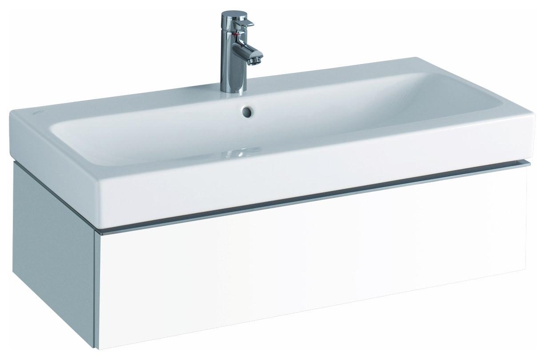 keramag icon waschtischunterschrank 890x240x477mm alpin matt 841290000. Black Bedroom Furniture Sets. Home Design Ideas