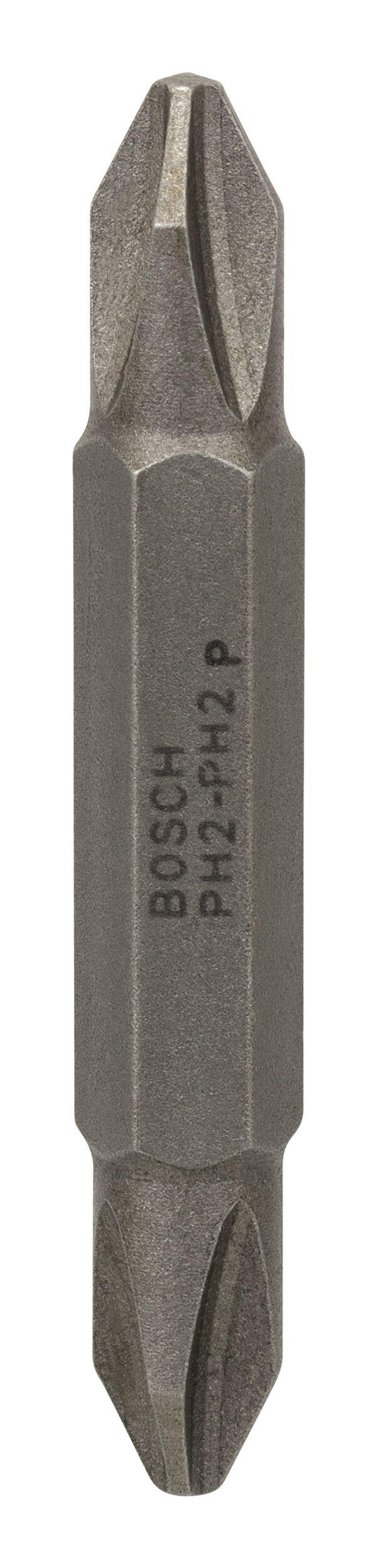 Bosch Zubehör Doppelklingenbit PH2, PH2, 45 mm - 2607001740 (VPE: 10 Stück)