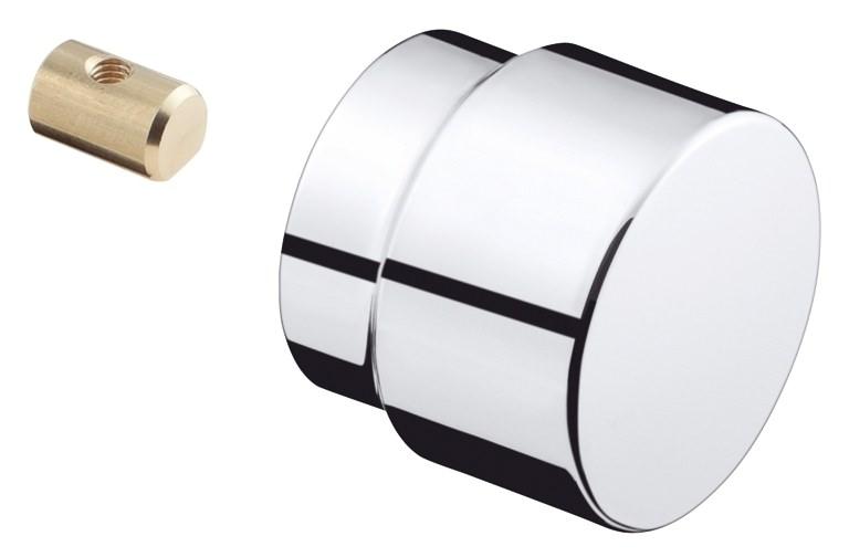 hansgrohe axor uno zugknopf komplett umsteller chrom 13471000. Black Bedroom Furniture Sets. Home Design Ideas
