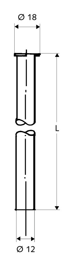 Spezial Erdungsstab 75 cm Weidezaun Erdung Erdstab Erdungspfahl Weidezaungerät