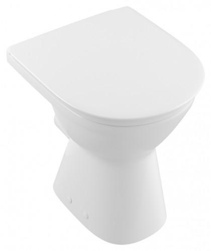 Villeroy & Boch O.novo vita Tiefspülklosett Rund klassischStand-WC ...