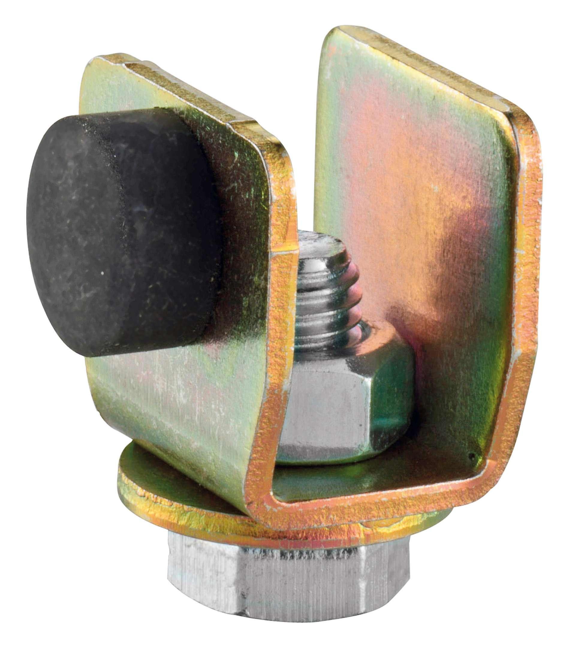 HELM Flansch 393 für Holzflügel zum aufschrauben Stahl galvanisch verzinkt