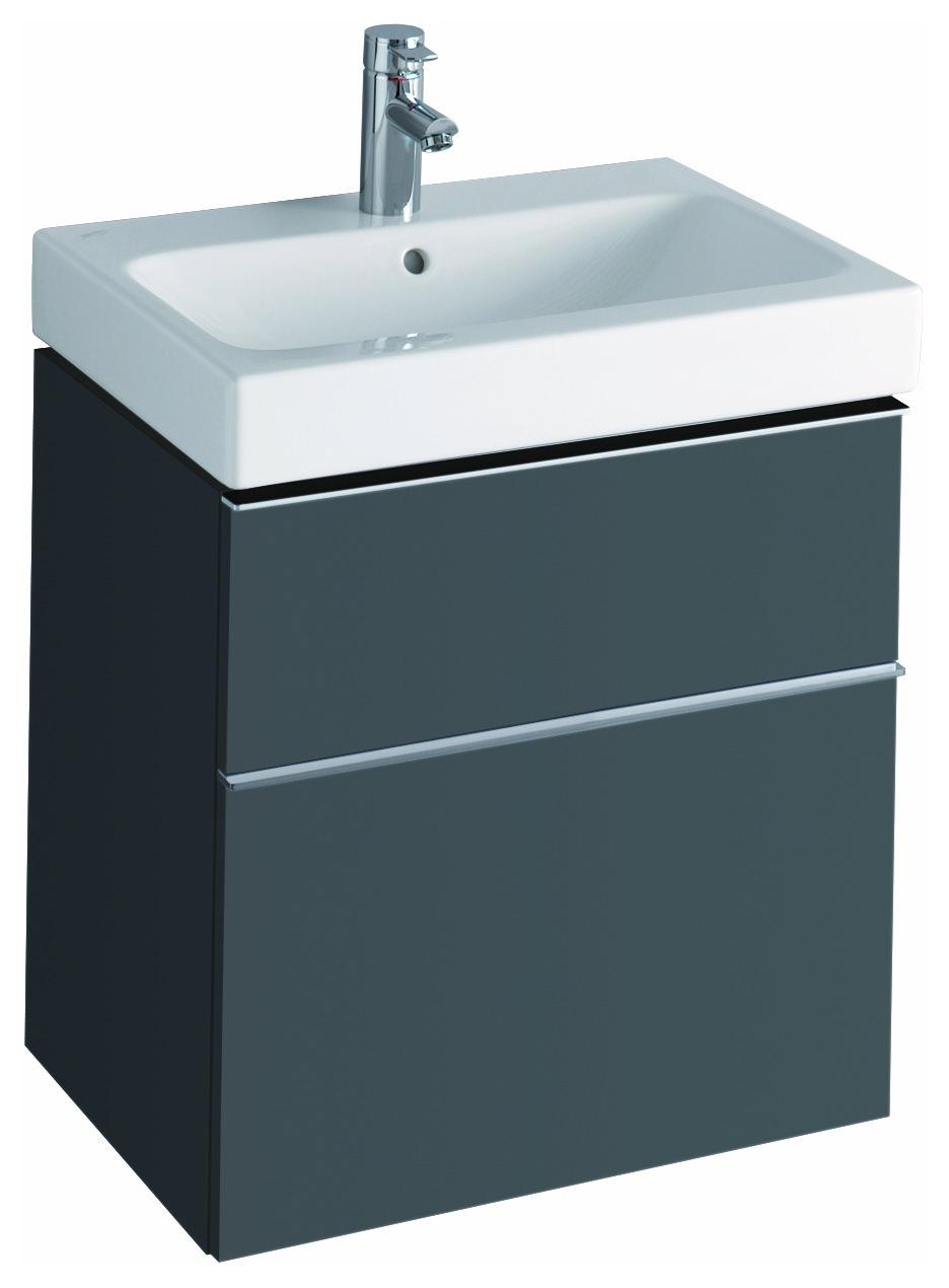 keramag icon waschtischunterschrank 595x620x477mm lava matt 841361000. Black Bedroom Furniture Sets. Home Design Ideas