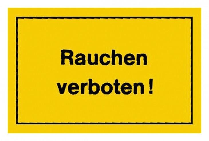 Werkstatt 2017 Foto Verbotsschilder-Rauchen-verboten