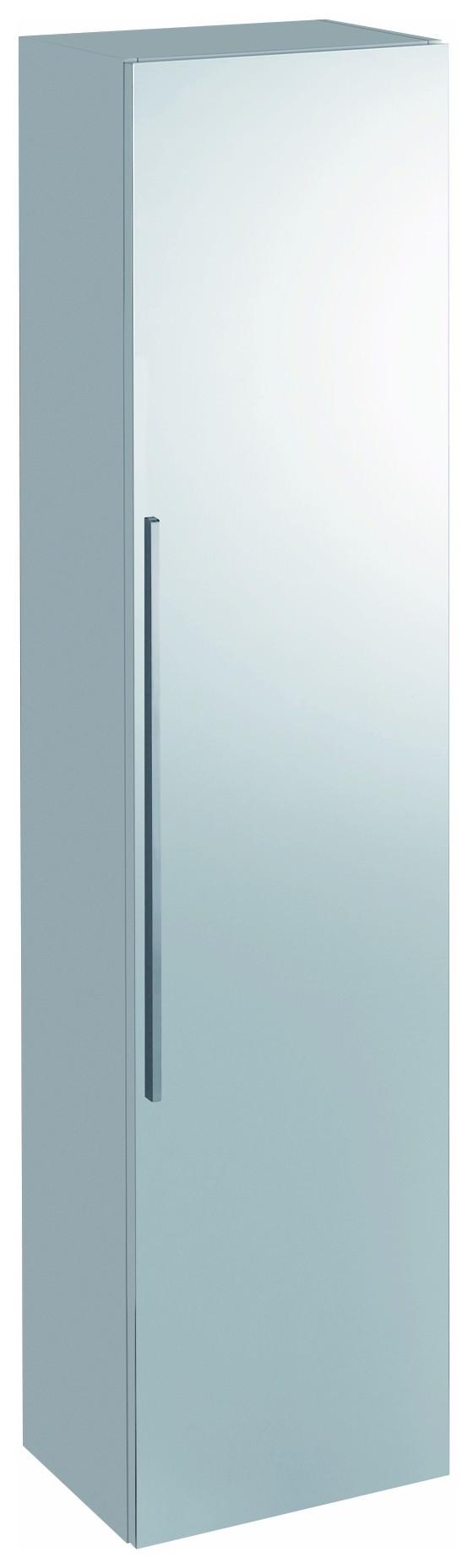 keramag icon spiegelschrank 360mm x 1800mm x 309mm alpin hochglanz 840150000. Black Bedroom Furniture Sets. Home Design Ideas
