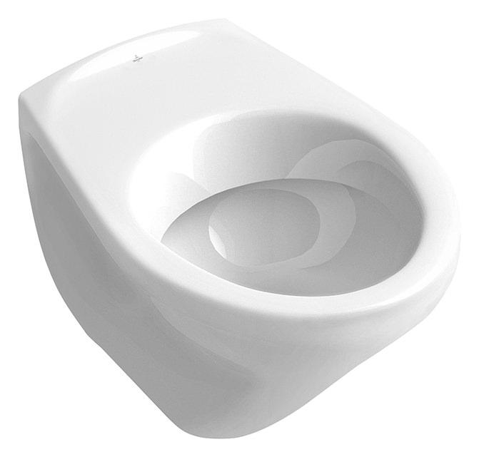 villeroy boch o novo tiefsp lklosett wand wc mit sp lrand ohne befestigungsl cher wei alpin. Black Bedroom Furniture Sets. Home Design Ideas