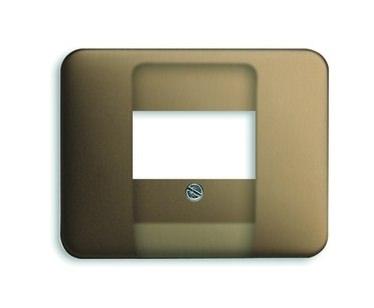 busch jaeger zentralplatte tae bronze matt befestigung mit. Black Bedroom Furniture Sets. Home Design Ideas