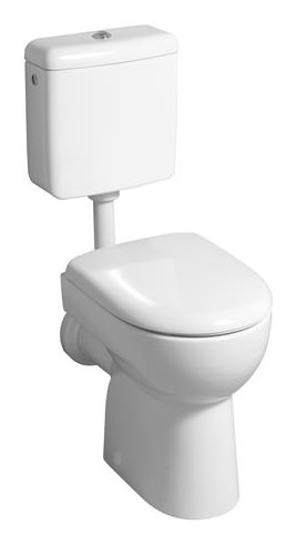 keramag renova nr 1 wc sitz mit deckel pergamon 573010068. Black Bedroom Furniture Sets. Home Design Ideas