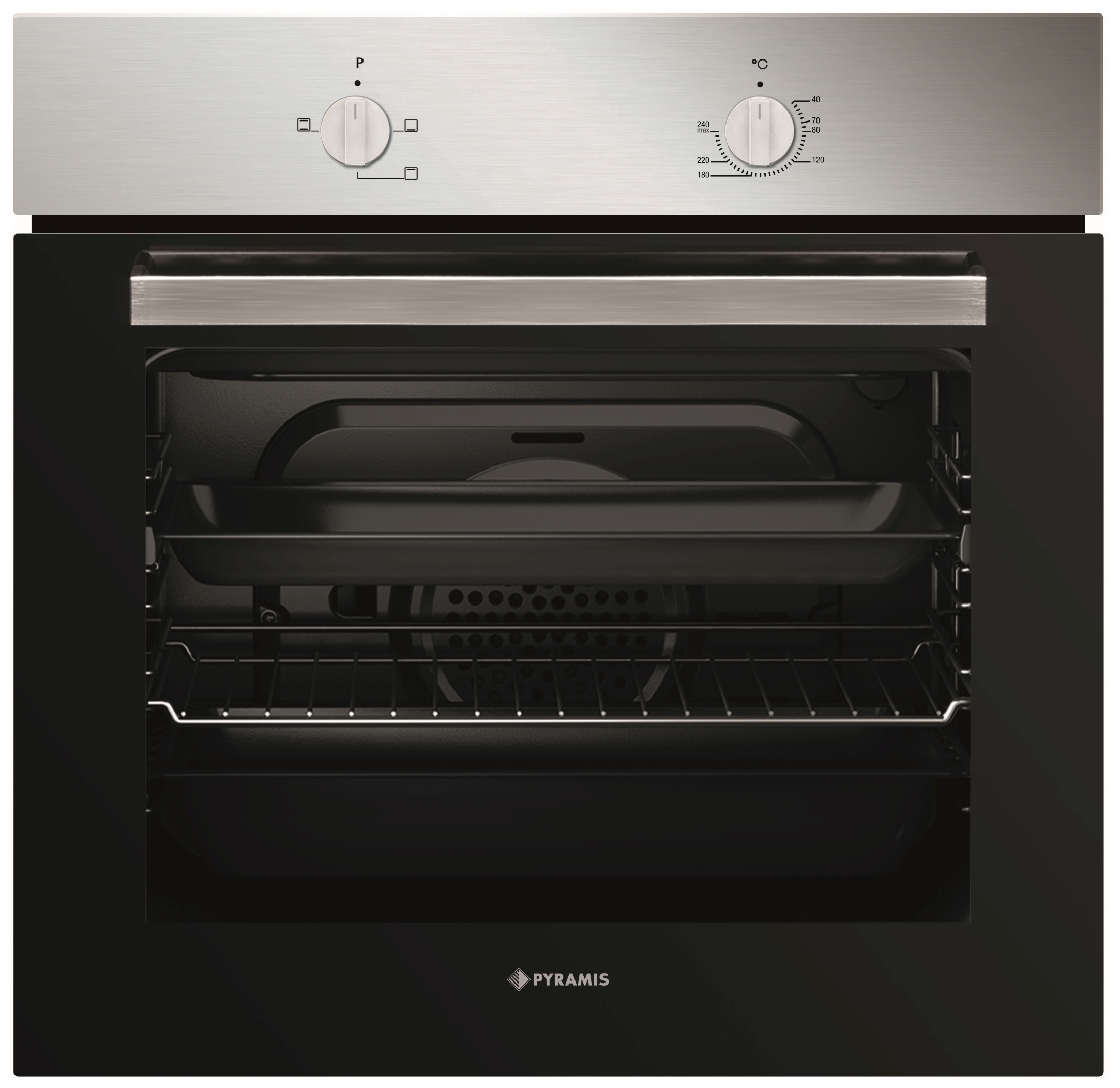 Backofen 60In 1200 inox Backofen - 34003501