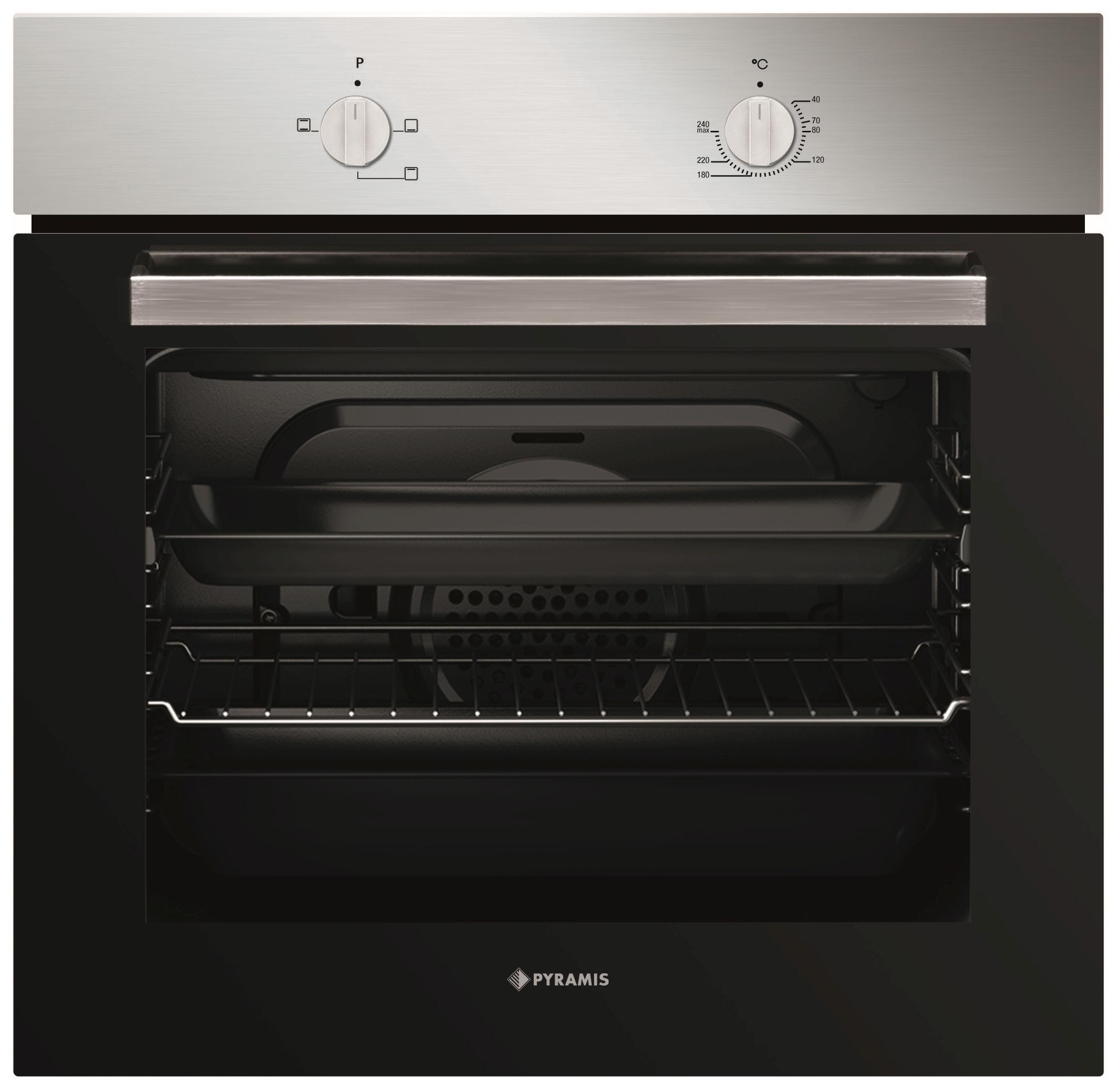 pyramis backofen 60in 1200 inox backofen 034003501. Black Bedroom Furniture Sets. Home Design Ideas