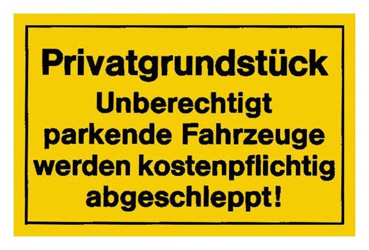 Werkstatt 2017 Foto Verbotsschilder-Privatgrundstueck