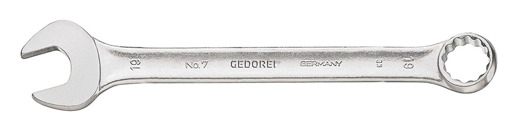 Gedore Ringmaulschlüssel DIN3113A 16,0mm 6091610