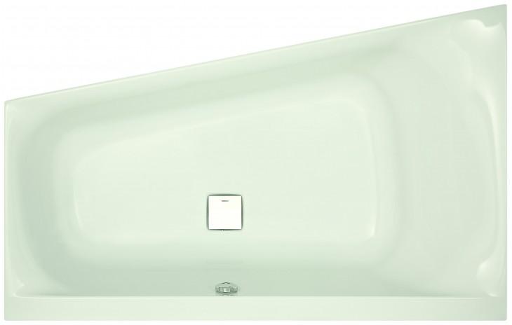Hoesch Thasos Trapezbadewanne 1750 X 1100 Mm Links Weiß Badewannen
