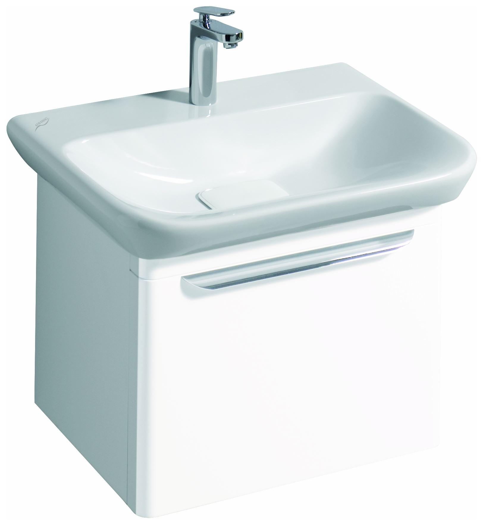 keramag myday waschtisch ohne berlauf 650mm x 135x480mm wei alpin keratect 125465600. Black Bedroom Furniture Sets. Home Design Ideas