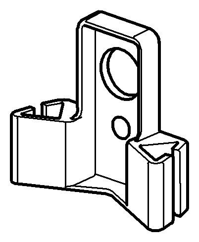 grohe rapid pro rapid sl uniset halterung f r wc sp lkasten chrom 42195000. Black Bedroom Furniture Sets. Home Design Ideas
