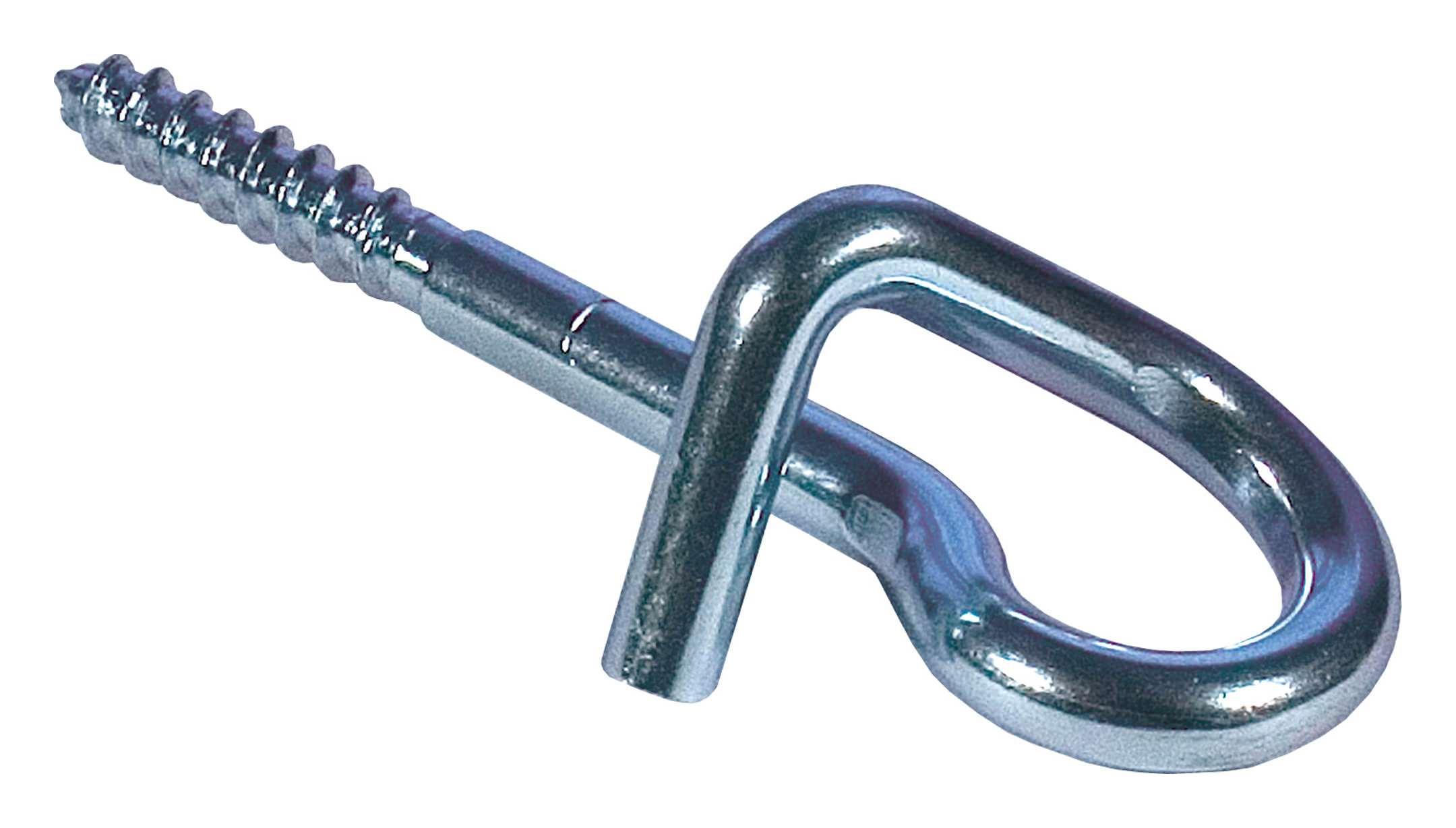 Sicherheits-Schaukelhaken Typ 0 M12 x 60 mm mit Karabiner