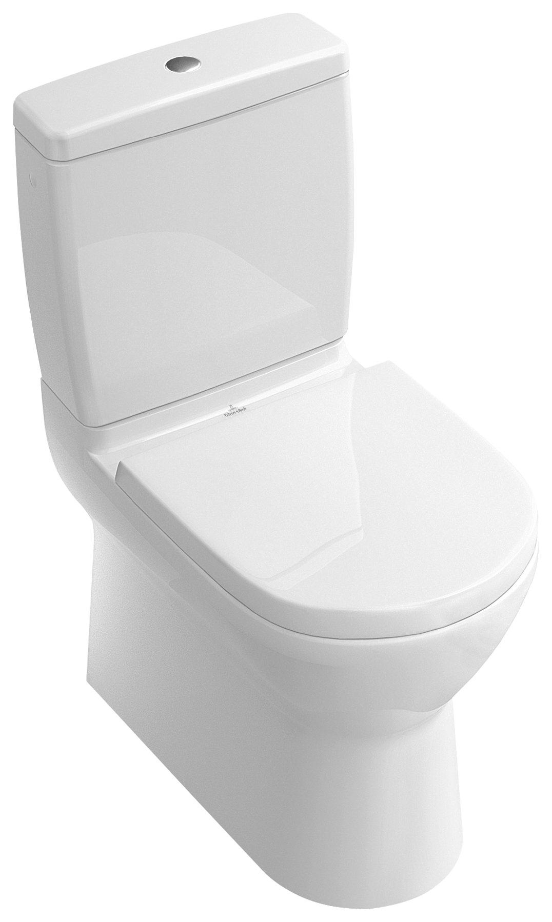 Villeroy & Boch O.Novo Tiefspülklosett für Kombination Stand-WC ...