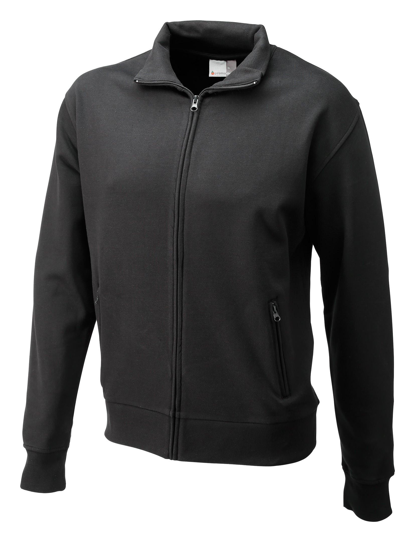 Sweatshirtjacke Größe M schwarz - 5290F-9D-M