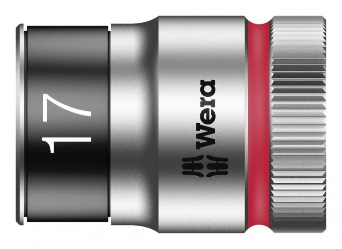 Wera 2019 Freisteller Steckschluessel-Einsatz-1-2-17mm-6kt-Haltef
