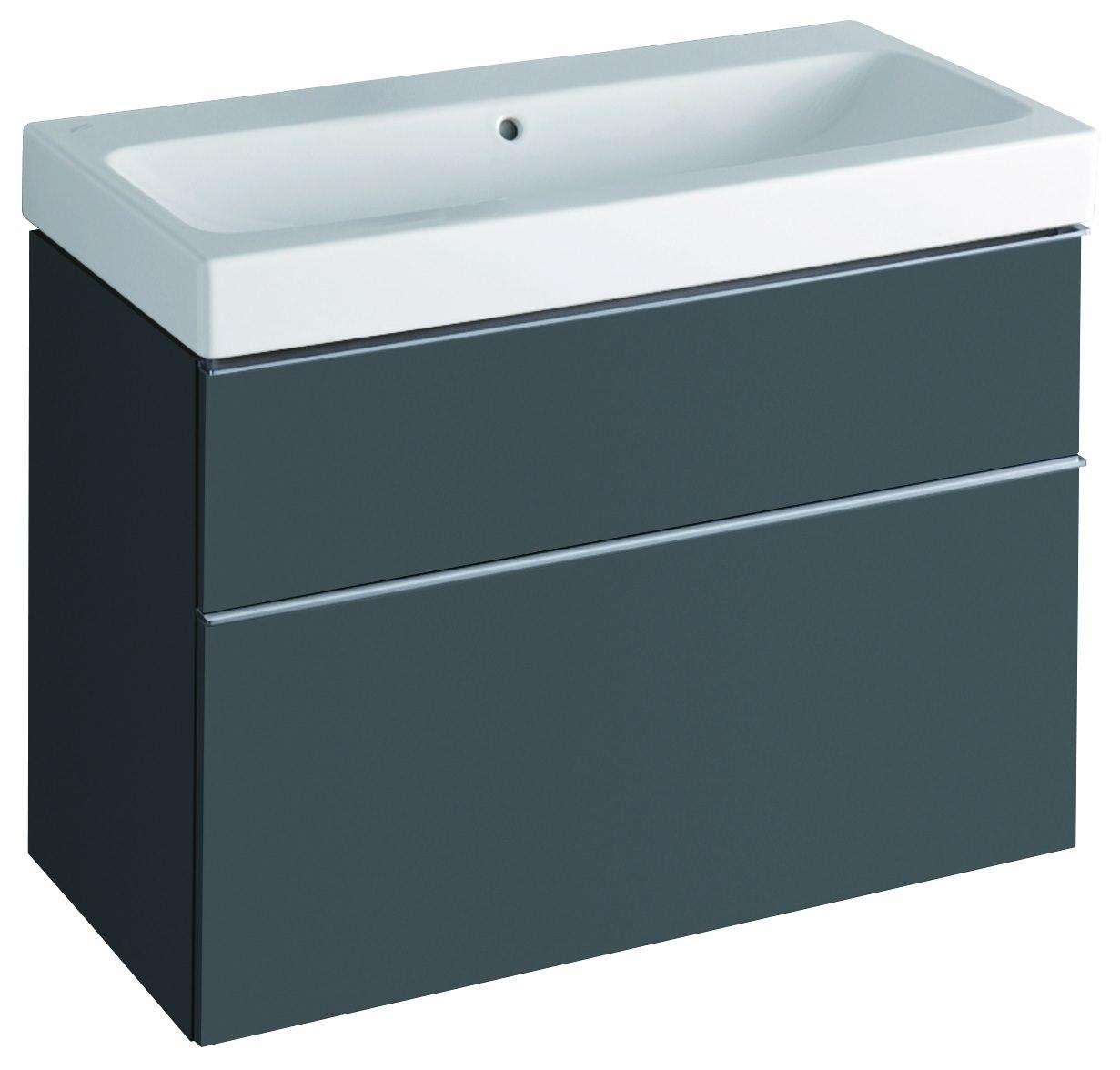 keramag icon waschtischunterschrank 890x620x477mm lava. Black Bedroom Furniture Sets. Home Design Ideas
