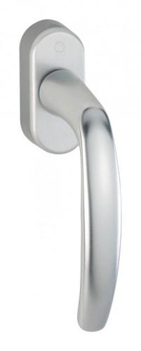 Hoppe Fenstergriff Verona 32-42 mm Alu Aluminium natur 0510//US952 F1