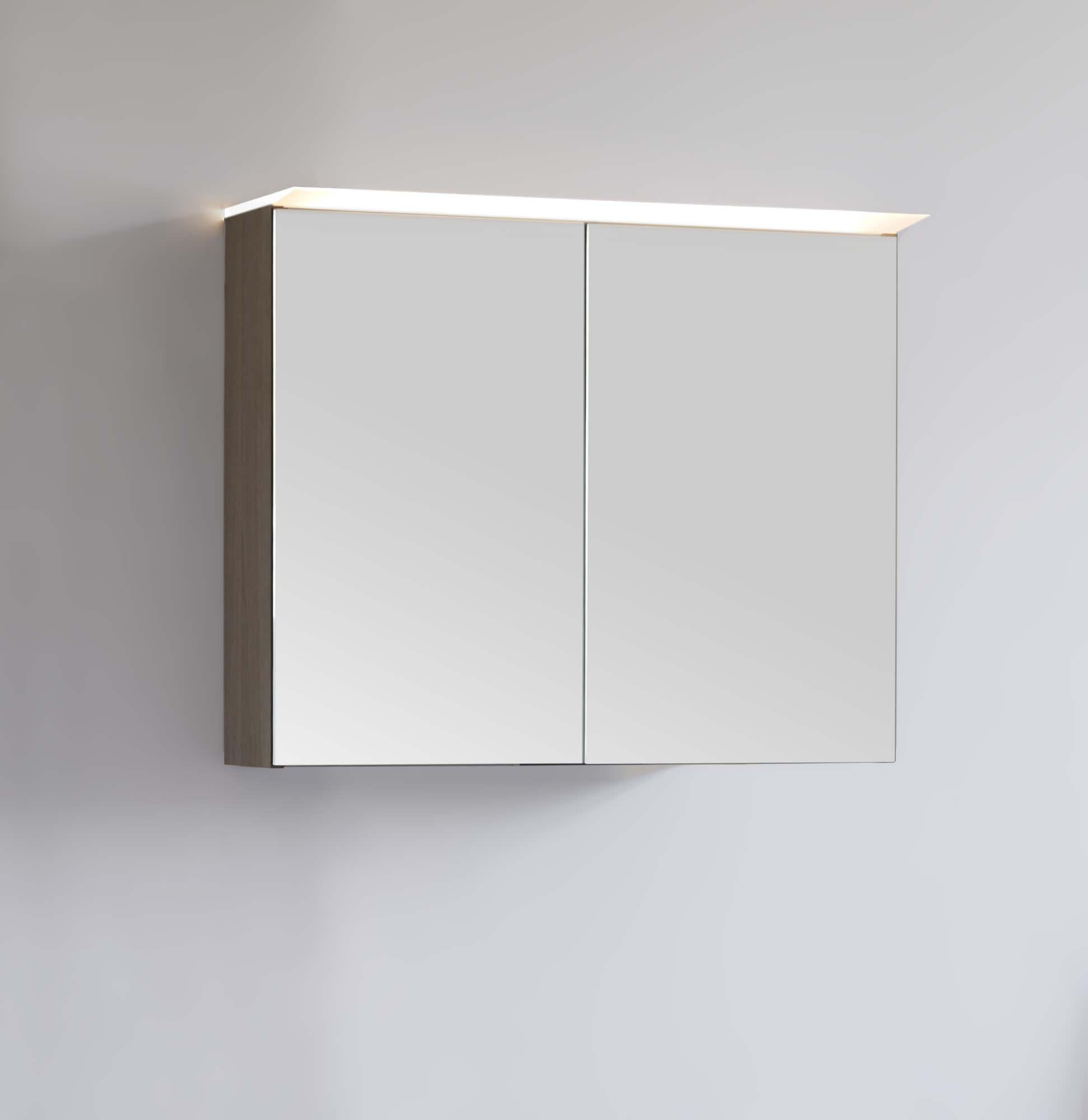Häufig Scanbad Multo Spiegelschrank ohne Beleuchtung 60cm x 64cm - Weiß GG89