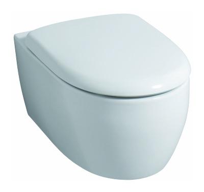 keramag 4u wc sitz mit deckel mit absenkautomatik wei alpin 574410000. Black Bedroom Furniture Sets. Home Design Ideas