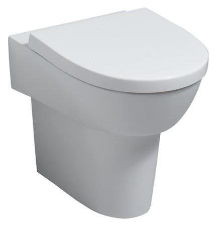 keramag flow wc sitz mit absenkautomatik wei alpin. Black Bedroom Furniture Sets. Home Design Ideas
